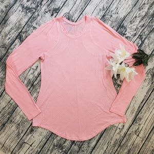 Lululemon Athletica Digni Tee Bleached Coral Pink